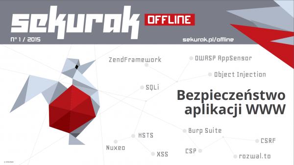 Sekurak Offline - okładka pierwszego numeru